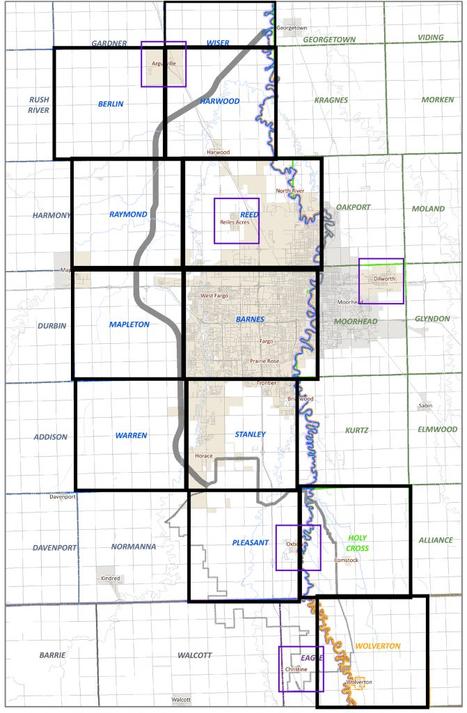 FM Diversion area map
